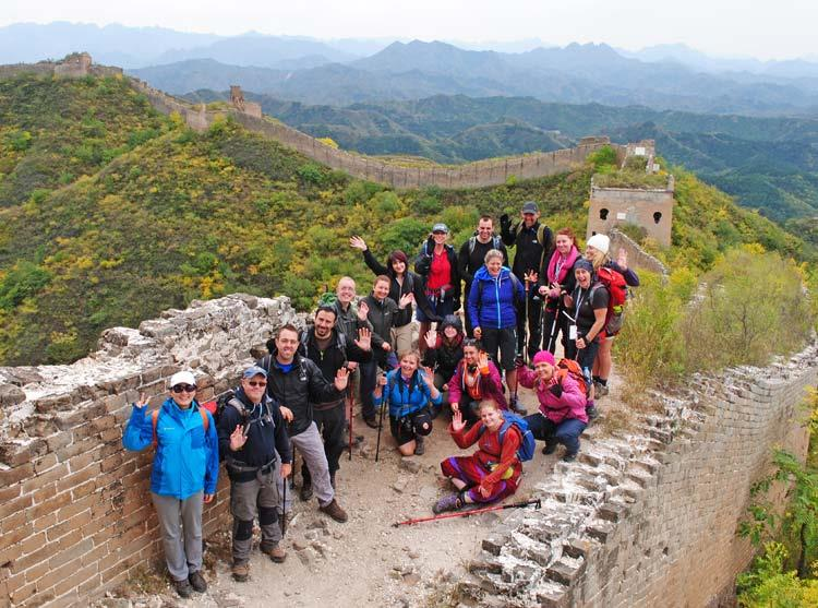 World From The Wall: Cath's Great Wall of China Challenge