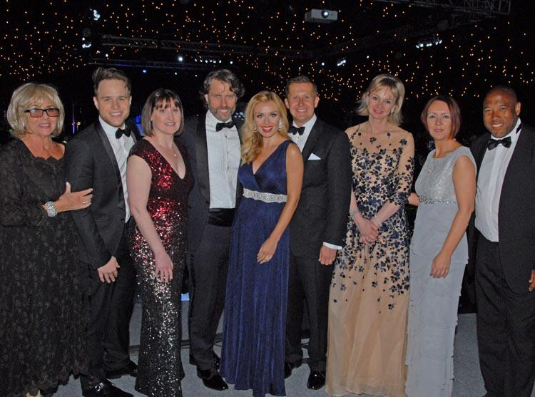 Stars turn out for a remarkable fundraising ball