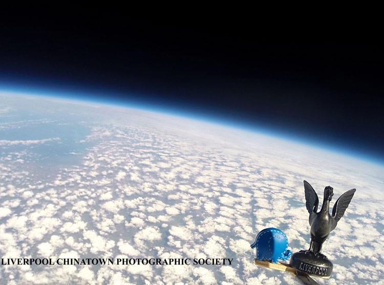Watch: Amazing video of Oli in space at 100,000ft