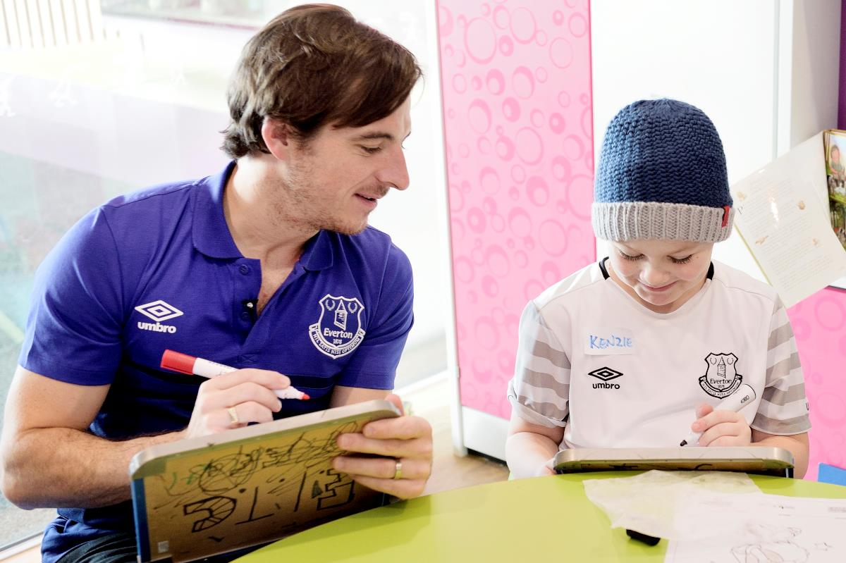 Leighton Baines becomes Alder Hey patron