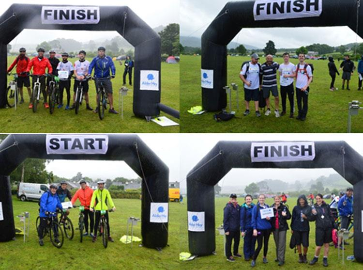 Challenged in Coniston: Corporate partners battle the toughest conditions in history