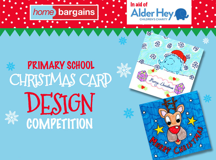 Elegant Home Bargains Christmas Card Design Competition 2017