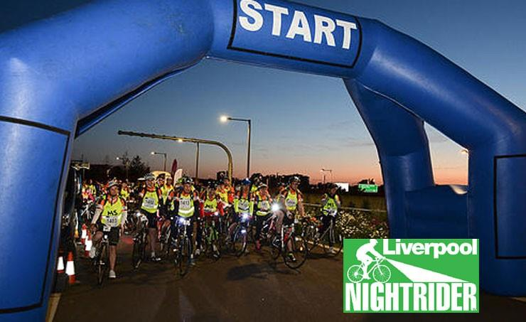 Fundraising for Alder Hey: Take part in Nightrider!