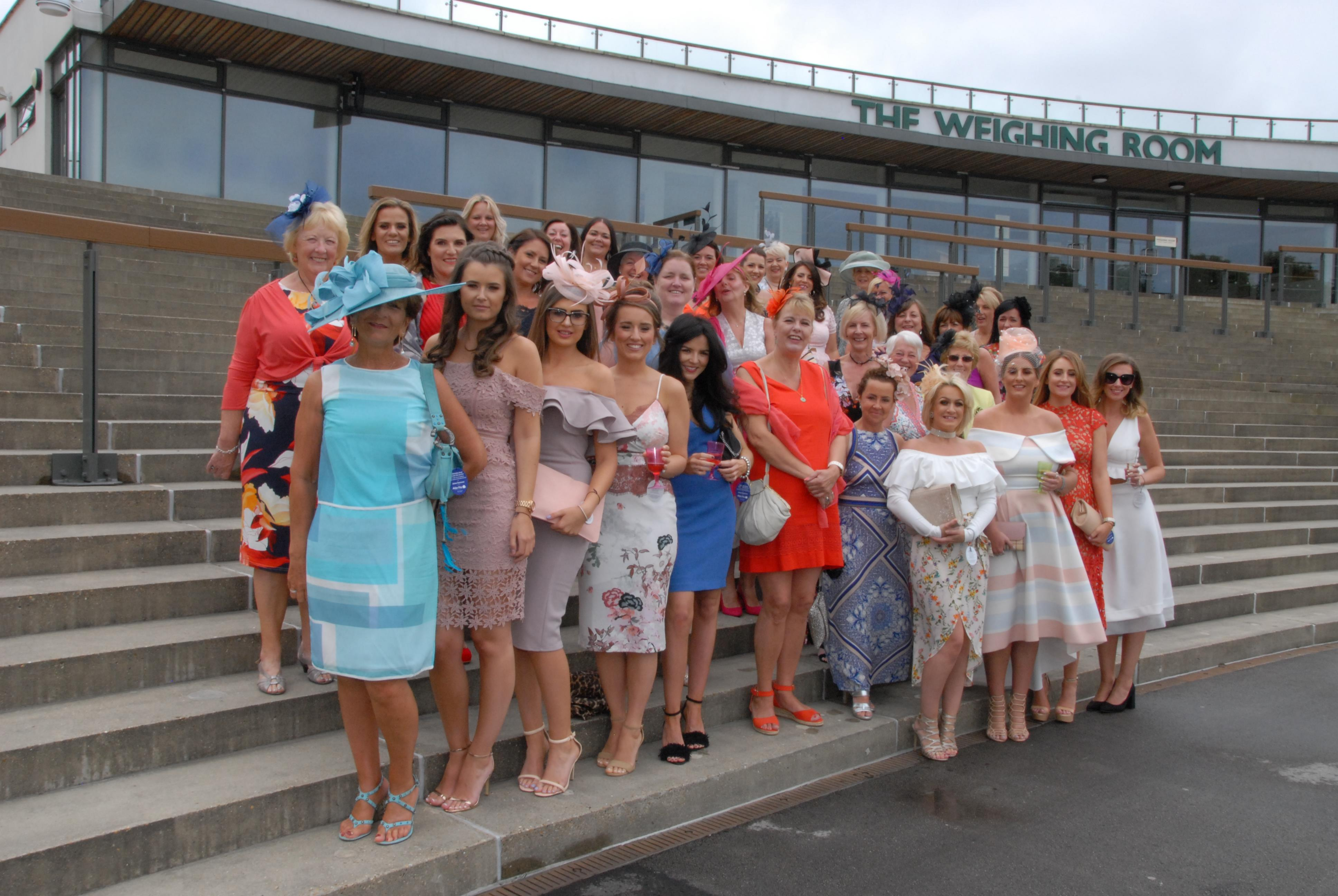 Ladies turn out in style for Alternative Ascot event