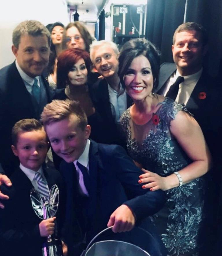 Amazing George wins Pride of Britain