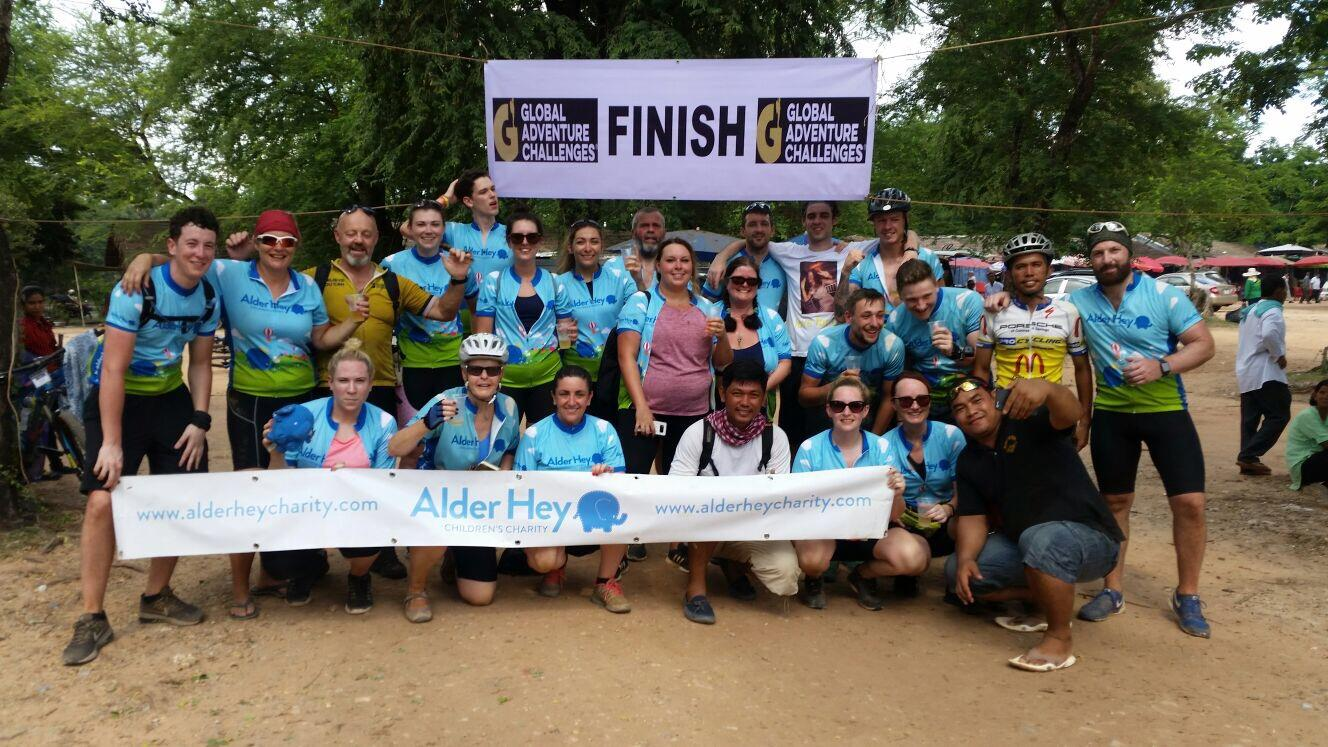 Vietnam to Cambodia Cycle Challenge